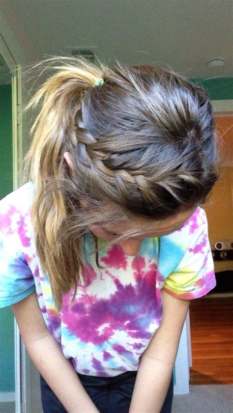 hairstyles for basketball games 17 best images about softball on pinterest soccer