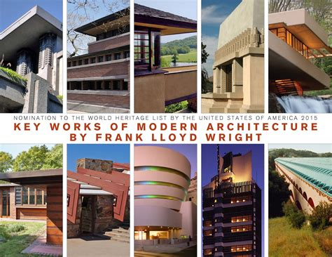 Modern Interior Homes by Key Works Of Modern Architecture By Frank Lloyd Wright