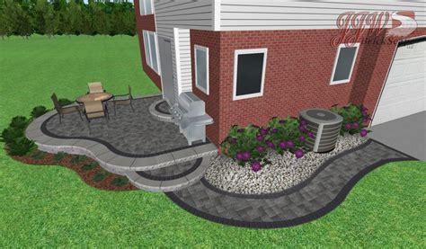 small paver patio brick paver patio shelby township small paver patio