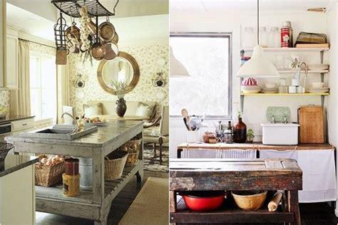 cocinas  islas  partir de muebles reciclados cocinas