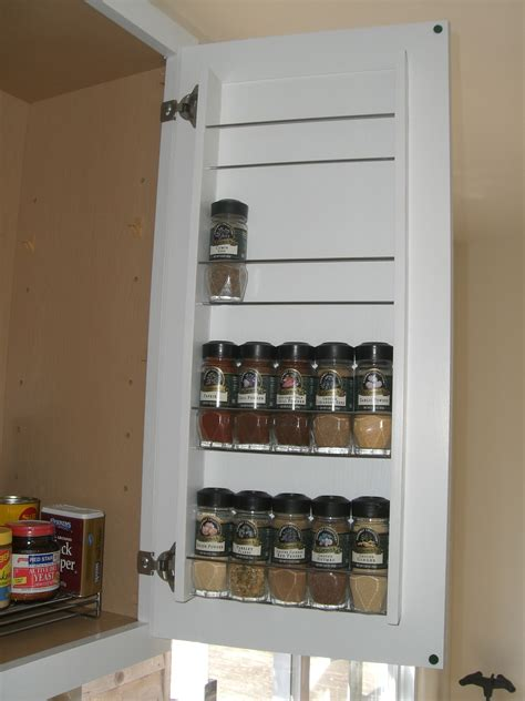 kitchen cabinet door spice rack cabinets ideas pull down spice racks for kitchen cabinets
