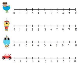printable number line grade 1 integer number line clip art 23