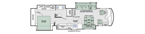 tuscany floor plans thor class a motorhomes rv models specifications photo gallery