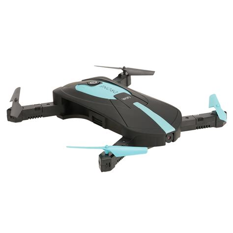 Drone Pocket jun yi jouets jy018 2 0mp appareil photo 1080p wifi fpv foldable selfie pocket drone g capteur