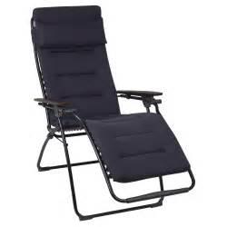 chaise longue pliante multiposition futura air comfort
