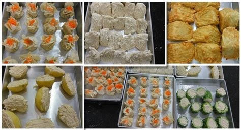 membuat siomay ncc natural cooking club reportase kursus siomay batagor