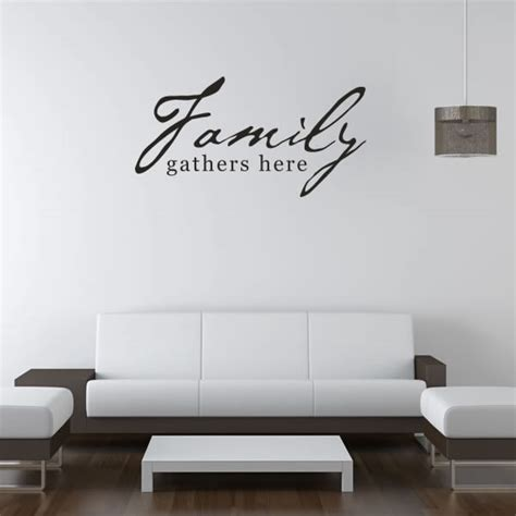quotes on wall stickers family quotes wall decals quotesgram