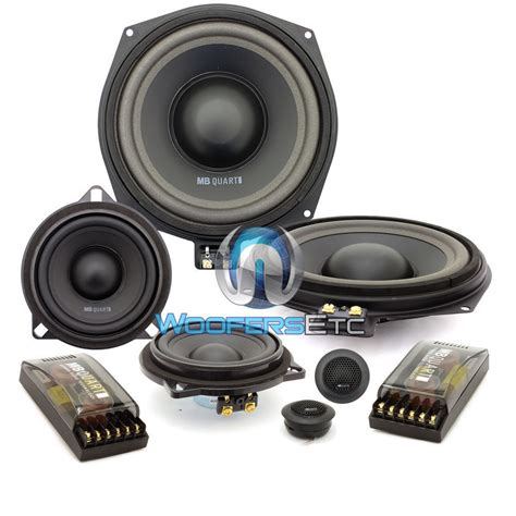 3 Way Component Speaker System | qm200 3 mb quart 8 5 quot 4 ohm 3 way component speakers