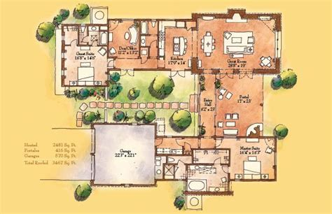 santa fe home plans santa fe style home floor plans home design and style