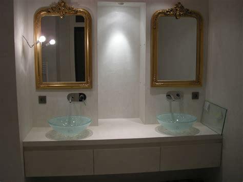 Attrayant Salle De Bain 2 Couleurs #6: meuble-double-vasque-beton-cire-style-retro.jpg