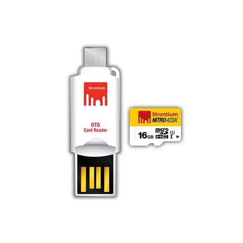 Termurah Microsd Strontium Nitro 16gb Speed 433x 65mb S strontium nitro 16gb uhs 1 65mb s class 10 microsd sdhc card otg reader srn16gtfu1t 價格 規格及用家