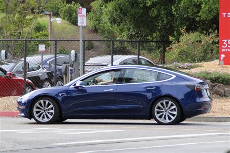 tesla model 3 xataka tesla model 3 completely undisguised gtspirit