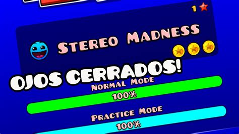 geometry dash full version stereo madness stereo madness con los ojos cerrados dif 205 cil quot geometry