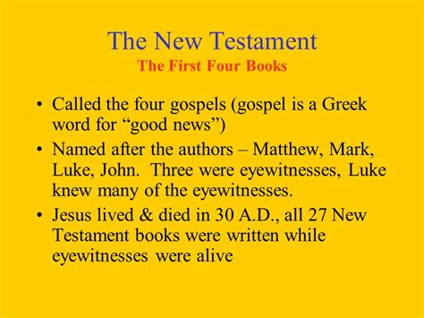 news the gospel of jesus books the bible is not one book ppt