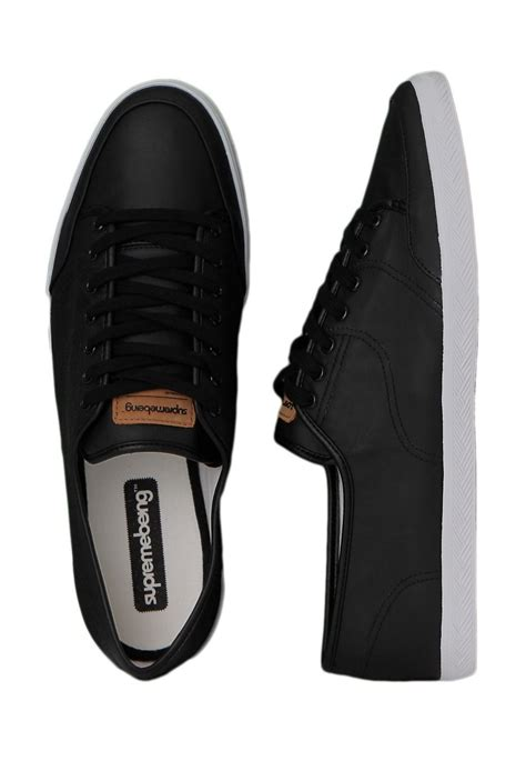 supremebeing stitch faux leather shoes streetwear