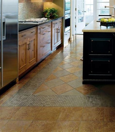 tiled kitchen floors ideas kitchen floor tile patern designs home interiors