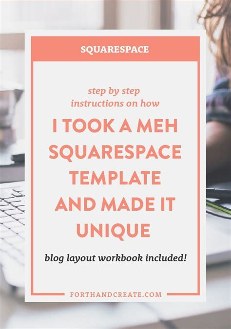 squarespace business templates how i took a meh squarespace template and made it unique