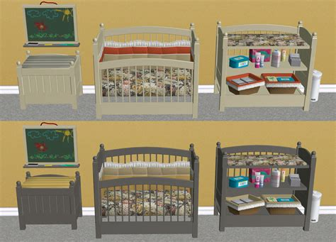 Les Sims 2 Ikea Home Design Kit T L Charger | mod the sims claybee nursery