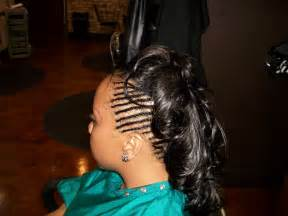 braided weave hairstyles braided weave mohawk thirstyroots com black hairstyles
