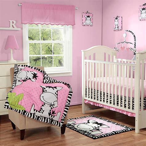 Zebra Crib Bedding Set Baby Boom I Zebra 4pc Crib Bedding Set Save 20 On Breathable Crib Liner Walmart