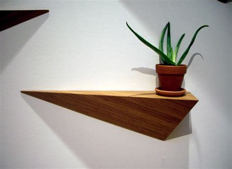 angle shelf eco friendly bamboo home interior furniture