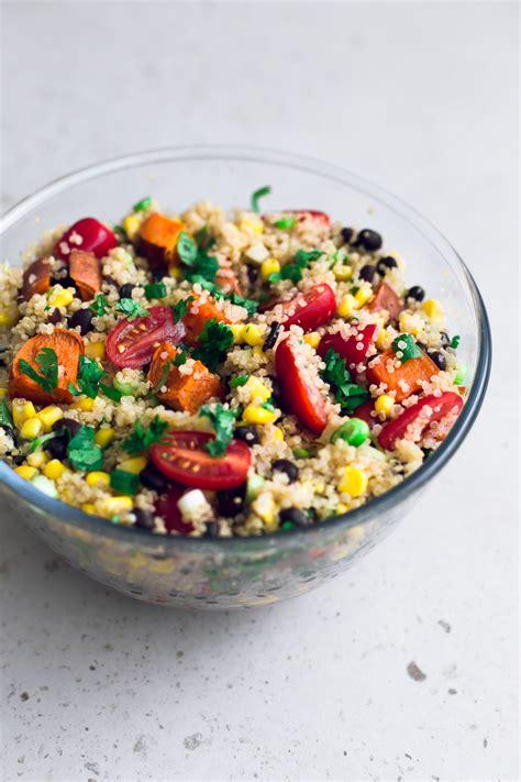 Detox Quinoa Salad Recipe by Detox Quinoa Salad With Lime Dressing Vegan Kitchen