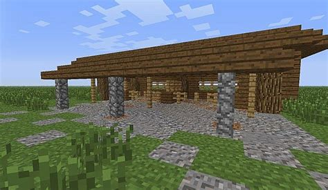 Horse Barn Blueprints Horse Stable Minecraft Project