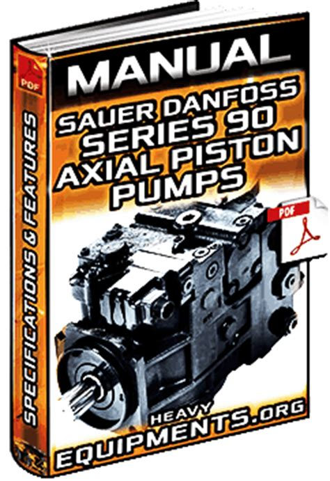 manual sauer danfoss series  axial piston pumps specifications features heavy equipment