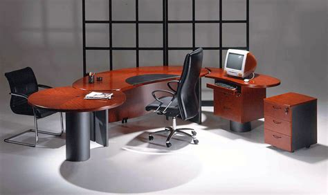 new contemporary cherry wood executive office desk utm1