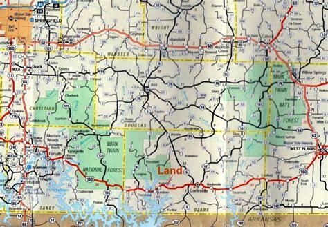 map of southern missouri map of southern missouri bnhspine