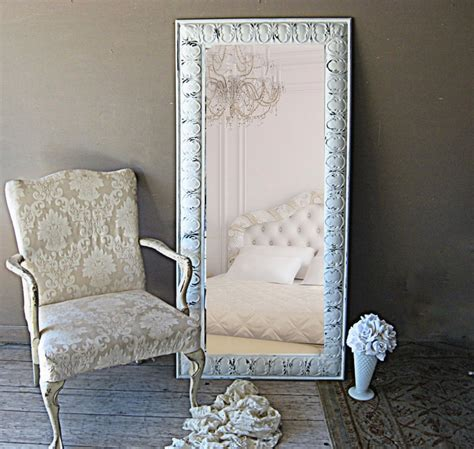 big shabby chic mirrors leaning mirror ornate white mirror tin shabby chic