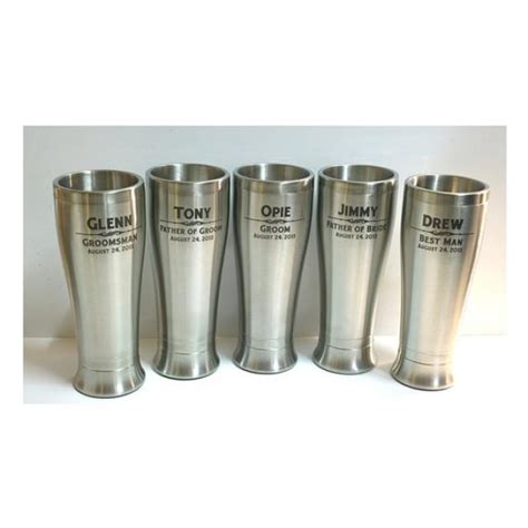 Wedding Gift Glasses by Stainless Steel Tumbler Personalized Glasses Wedding
