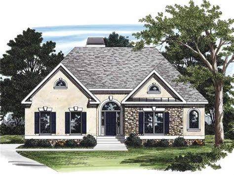 Eplans Cottage House Plan Stucco And Stone 1688 Square Eplans Cottage House Plan
