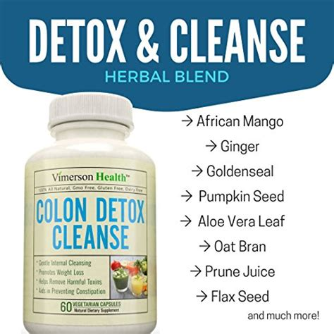 Colon Cleanse Or Detox by Colon Detox Cleanse Weight Loss Supplement 100 All