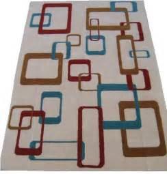 mid century modern rug blast 6 x9 hand tufted area rug