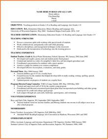 Objective In Resumes by Resume Objective Sop