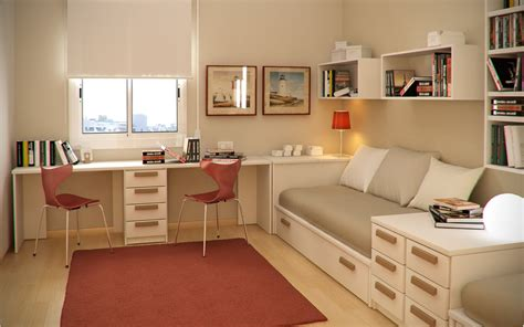 Study Room Small Floorspace Kids Rooms