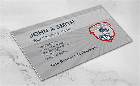 free business card template us army 14 business cards psd ai vector eps free