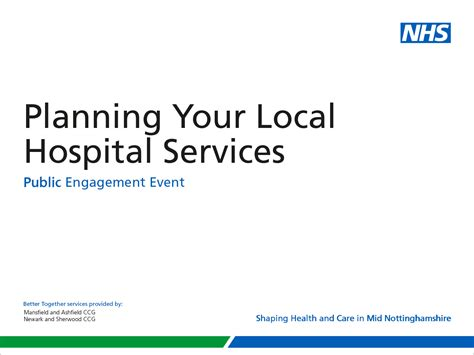 nhs powerpoint template nhs identity guidelines partnership branding