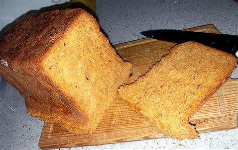 pan bread hecho pan de pimientos rojos hecho en panificadora silvercrest recetas de cocina