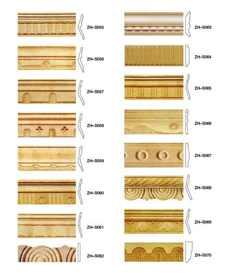 Decorative Wood Trim Moulding by Carved Wood Moulding Decorative Wooden Molding