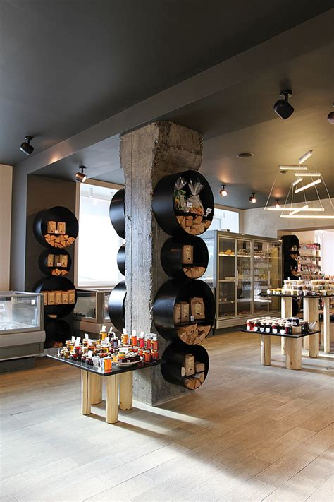 warehouse layout philosophies biostoria natural products store by frishmann moscow