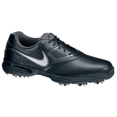 nike 2013 heritage golf shoes mens black silver grey at
