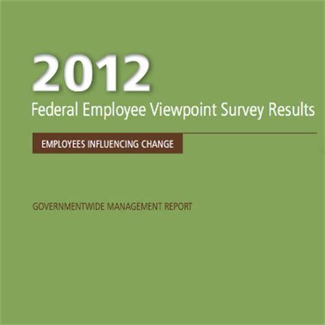 viewpoint survey what feds are thinking about the workplace fcw