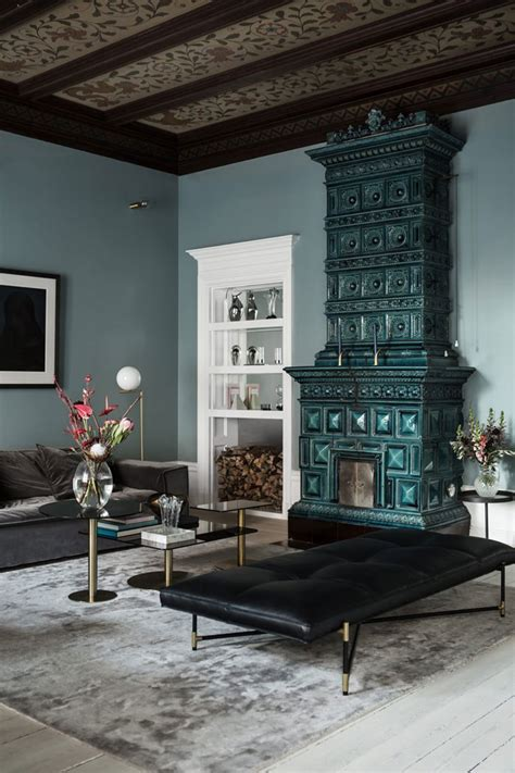 luxury apartment interior design archives digsdigs luxurious glam nordic apartment in blue shades digsdigs