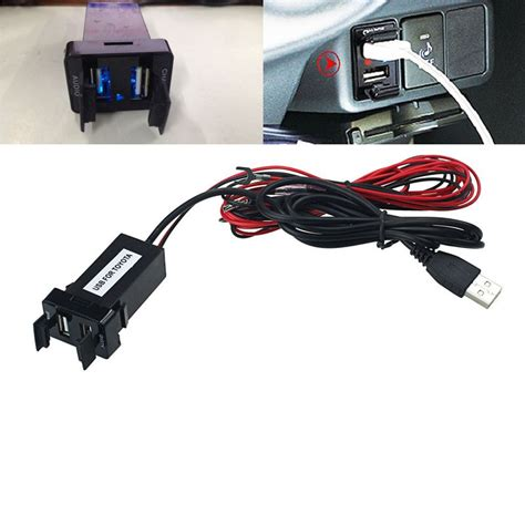 Usb Connection Power Needs 100 Brand New And High Qua 12v to 5v 2 1a usb ports car dashboard audio input charger