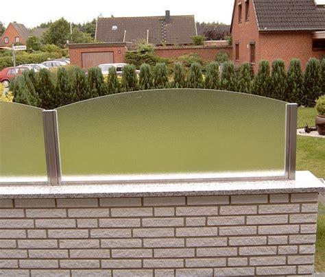 terrassen sichtschutz glas terrassen sichtschutz glas die neueste innovation der