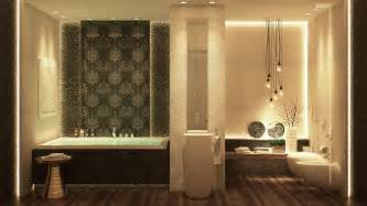 luxurious bathrooms with stunning design details can create designer bathroom without having resort designers