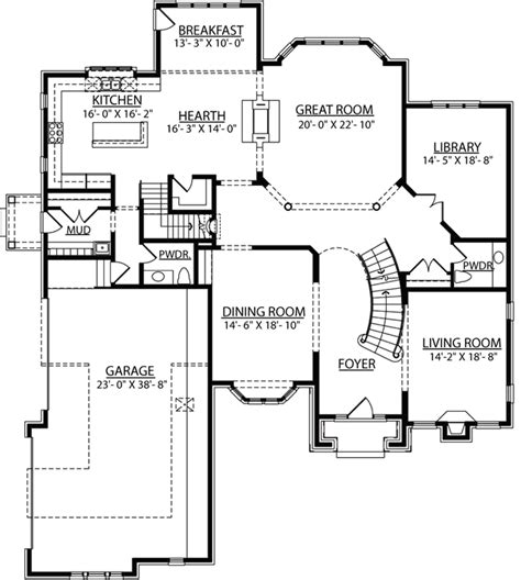 2 story great room floor plans bella homes floor plans berkshire