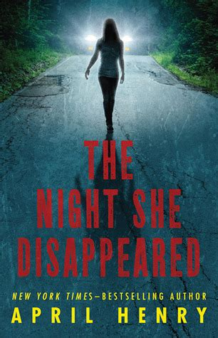the she book books the she disappeared by april henry reviews
